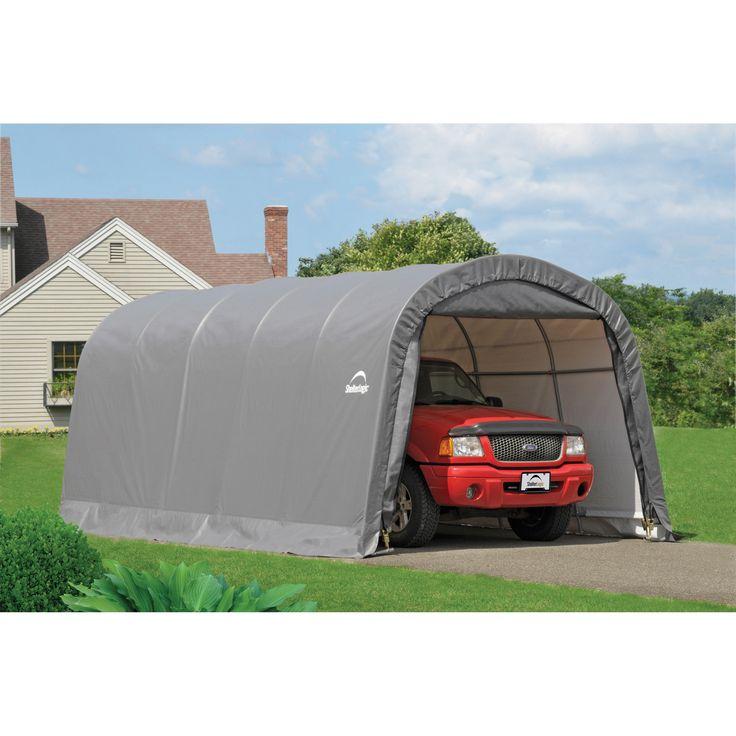 ShelterLogic Round Garage Portable garage, Carport