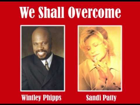 WINTLEY PHIPPS  This is from a Wintley Phipps concert in 1997 at North Anderson Church of God (Sandi Patty's former church). Sandi opened for Wintley and they closed the evening with this duet.