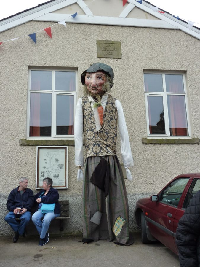 One of Wray's Giant Scarecrows.
