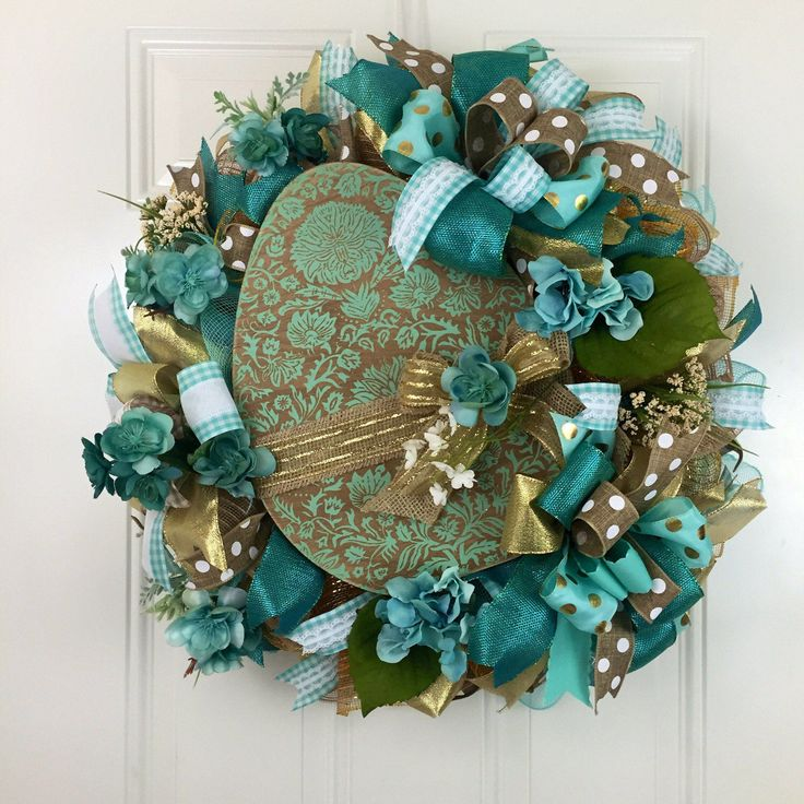 A personal favorite from my Etsy shop https://www.etsy.com/listing/512085599/unique-easter-wreath