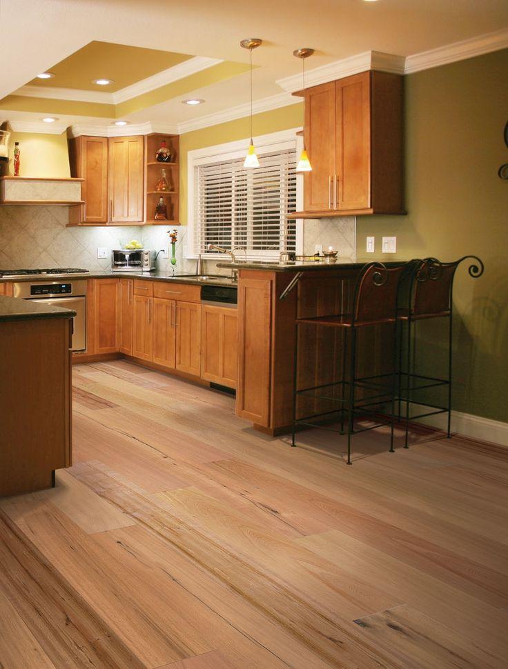 Bamboo Hardwood Flooring For Kitchen