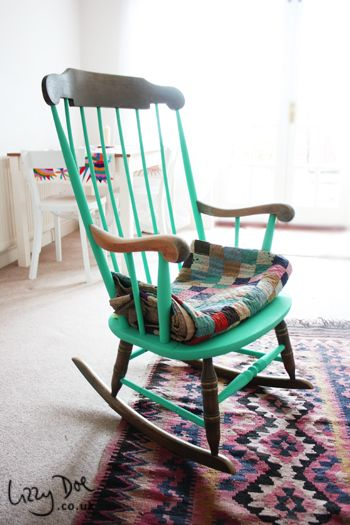 Revamped Rocking Chair (with Paint)