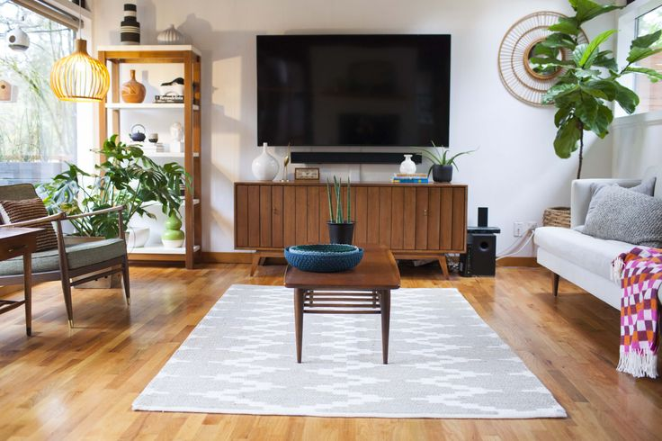 """The couple say their biggest challenge has been, """"updating our home to suit the way we live life now, while still staying true to its mid-century roots."""""""