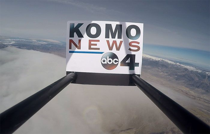 Watch: A cosmic 22-mile weather balloon journey to the edge of space   KOMO