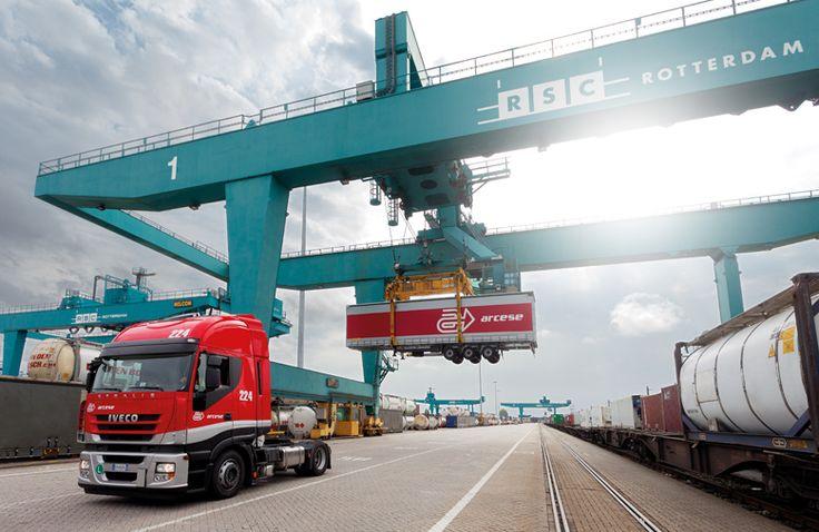 arcese produzione fotografica corporate trasporti camion logistica
