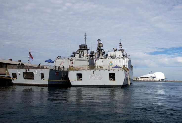 Indian Navy ships arrive in Australia for drills