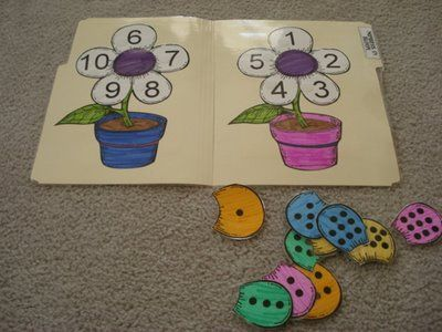 number file folder games
