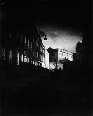 Henrietta Street, Dublin  Sinar F2 Schneider-Kreuznach Symmar-S 150mm 5.6 Ilford/Harman Direct Positive Paper FB 4x5 ISO 4  Photographer: Artur Sikora