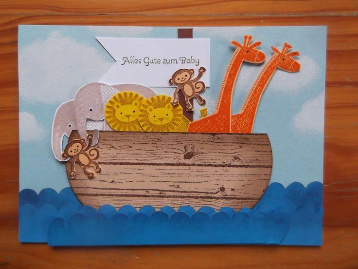 Sconebeker Stempelscheune - Stampin up Sets : Zoo Babies, Hardwood, Kleine Wünsche,