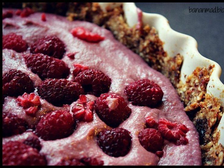 Gluten- og sukkerfri hindbærtærte! | Anima.dk