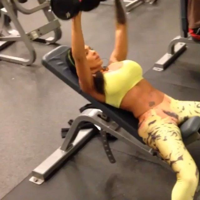 Guillotine Bench Press Part - 29: Incline Dumbbell Press Lie Back On An Incline Bench With A Dumbbell In Each  Hand Atop
