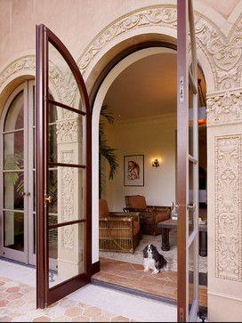 Mediterranean Home mediterranean window treatments