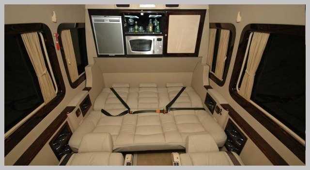 Volkswagen Crafter Vip İç Dizayn www.minibuskiralama.pro