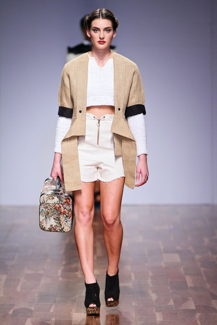 Through time and space Collection 2013 Hemp coat