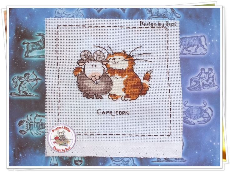 Project 2014: 39/40 Capricorn (Margaret Sherry - Cattitude Horoscopes)