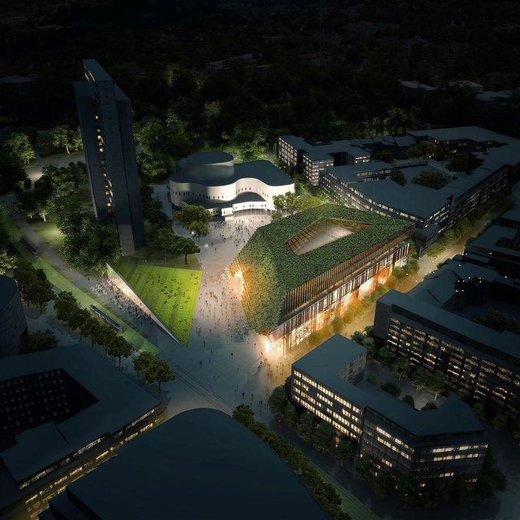 Fünf Architektenteams entwickelten Entwürfe für den Kö-Bogen II. Dabei geht es um die Randbebauung des Gustaf-Gründgens-Platzes.
