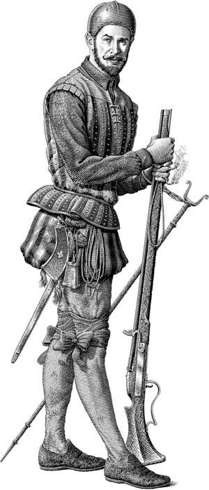 Spanish Colonial Soldier