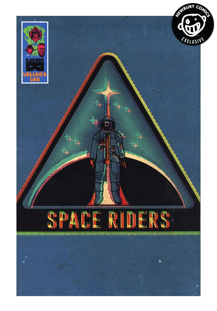 BLACK MASK COMICS Space Riders Volume 1 Exclusive Variant Cover