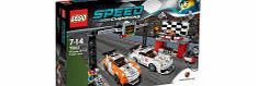 Lego Speed Champions: Porsche 911 GT Finish Line Race against your friends and claim a place on the podium with this exciting LEGOreg