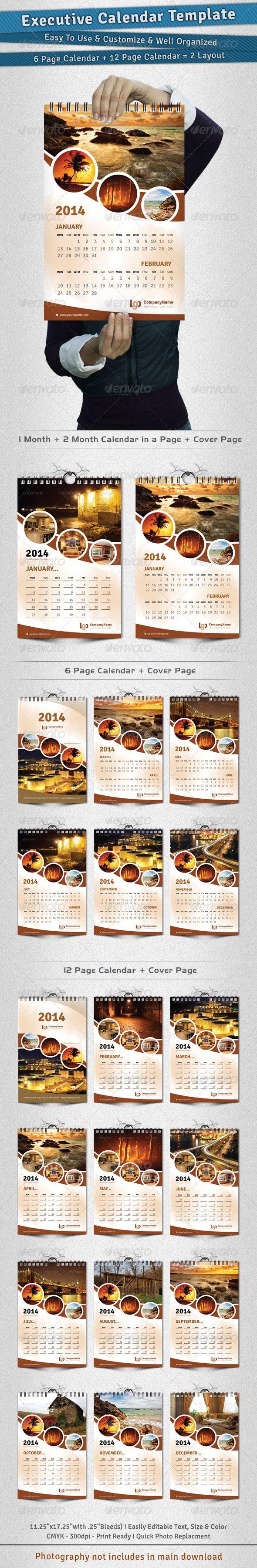 photo calendar templates