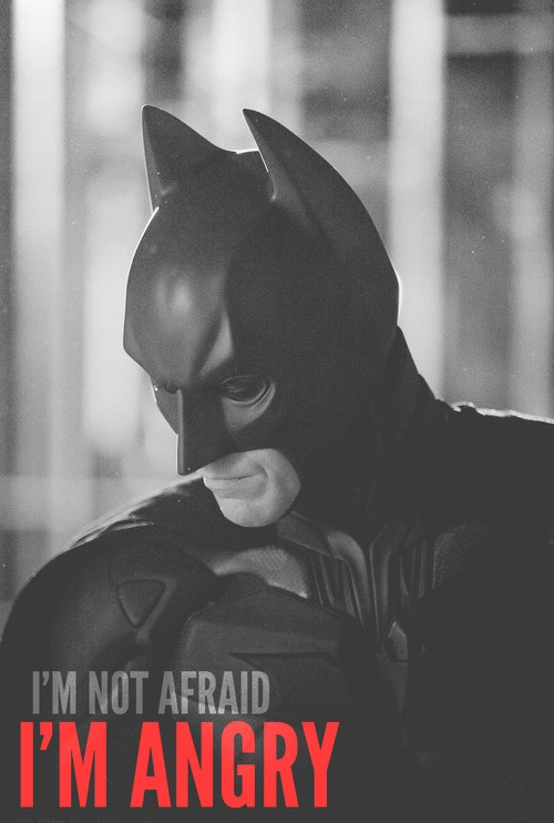 "Say you're not afraid of getting shot at the movies: Go see ""The Dark Knight Rises""!"