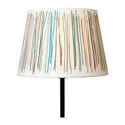Mooie kap voor de leeslampjes MALIN TRÅD Lampenkap - 23 cm - IKEA