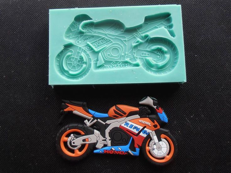 Silicone Mould / Honda Motor Application / Sugarcraft Cake Decorating Fondant / fimo mold by StaceyDecor on Etsy https://www.etsy.com/listing/218847245/silicone-mould-honda-motor-application