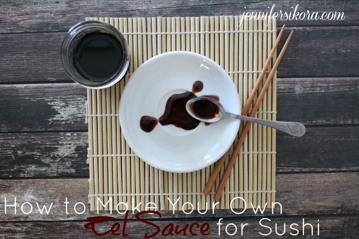 Here is my favorite recipe for making your own eel sauce to drizzle over sushi. It is so easy to make and goes great over your homemade sushi rolls.