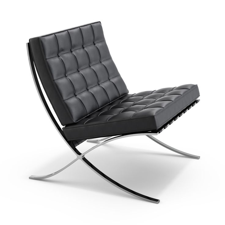 Le fauteuil Barcelona par Ludwig Mies van der Rohe & Lilly Reich