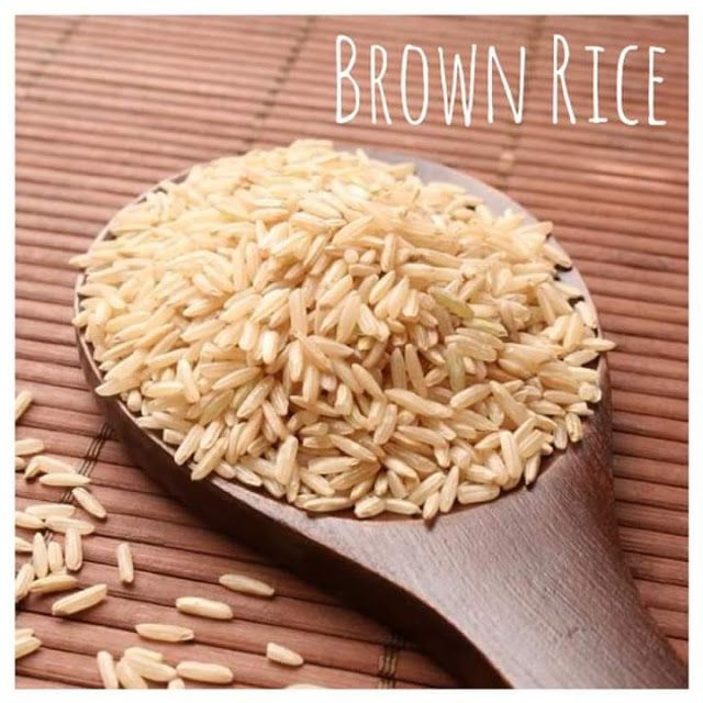 Brown Rice-- The World Healthiest Food Amazing Benefits Of Brown Rice   Brown rice's health benefits are partially due to the way it is prepared according to the George Mateljan Foundation for the Worlds Healthiest Foods which promotes the benefits of healthy eating. White rice was once brown rice but the hull and bran around the kernel are removed to make it white. With brown rice only the hull of the rice kernel is removed during preparation. This leaves most of the rice kernels nutrition…