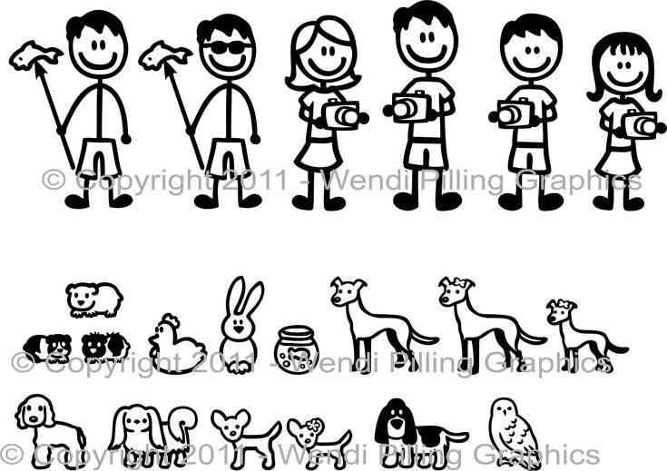 Stick Figures Faire Ses Motifs Tissus Pinterest Stick Figures And Doodles