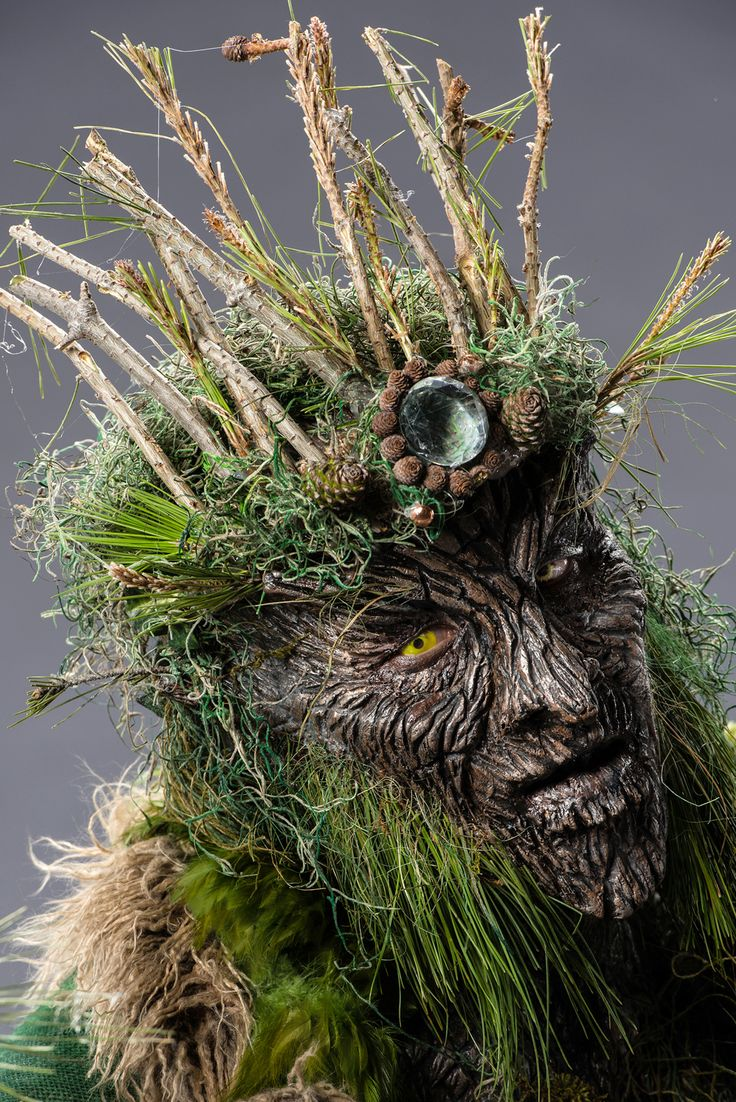 Face Off / Syfy; Spotlight Challenge 1: Make It Reign A closer look at Kris and Alam's Forest king.