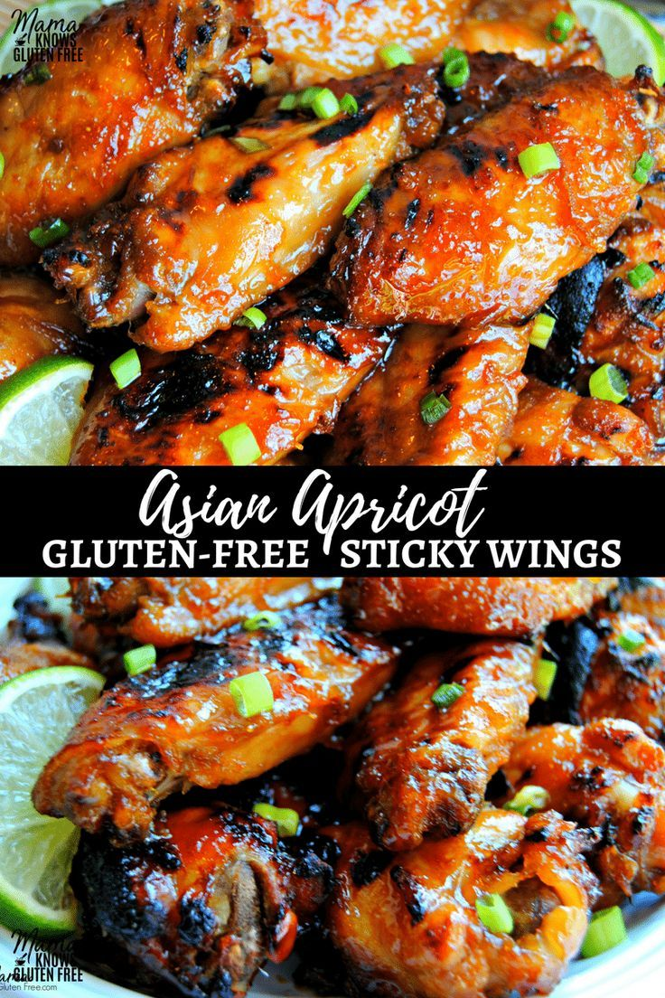 Asian Apricot Sticky Wings A Perfect Appetizer For Game Day Or