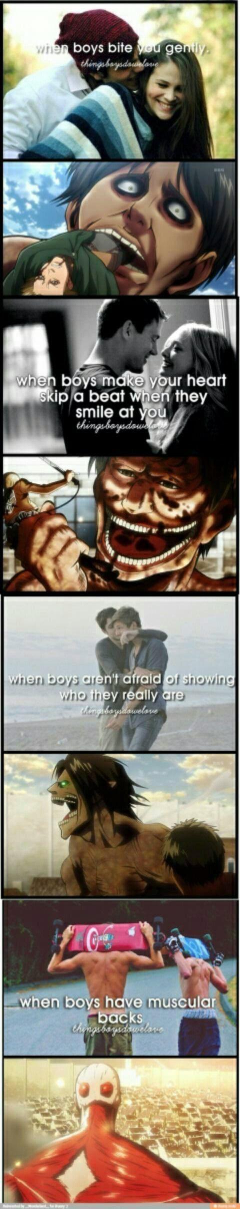 I choked || Attack on Titan ♜