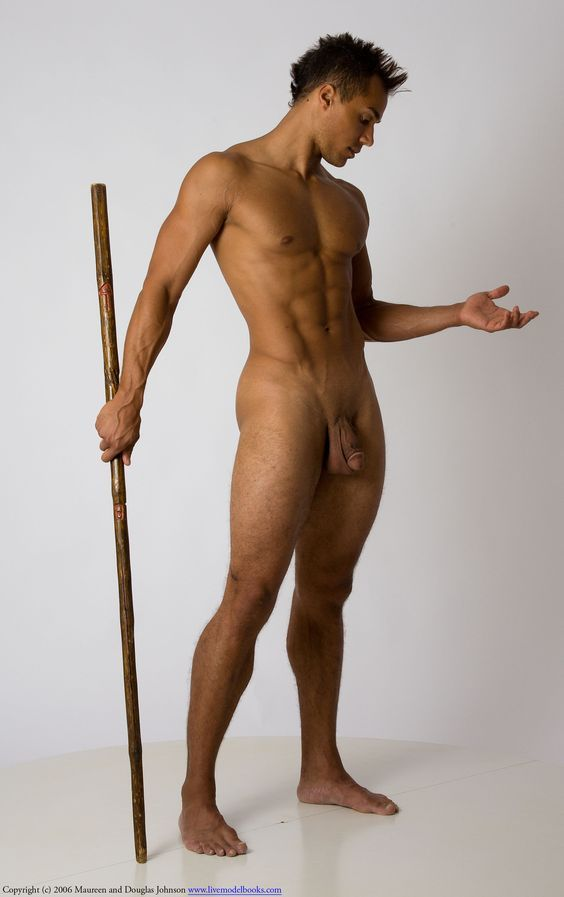 Excellent Male Model for an Anatomy Drawing.