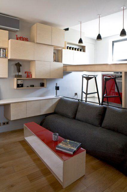 Hiper małe mieszkanie :: Magazyn Akademia Sztuki :: Sztuka Design Architektura :: Inspiracje