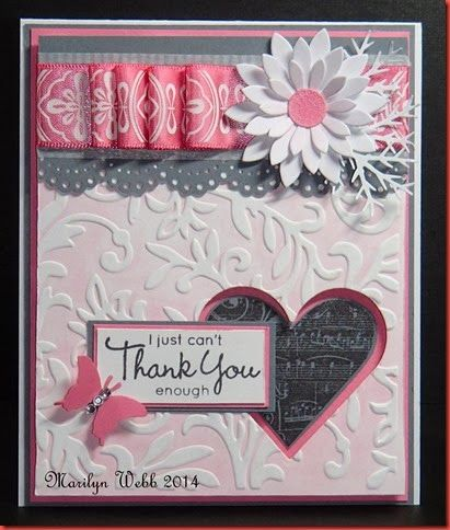 Beautiful Thank You Cards 63 best handmade thank you cards images on pinterest | handmade