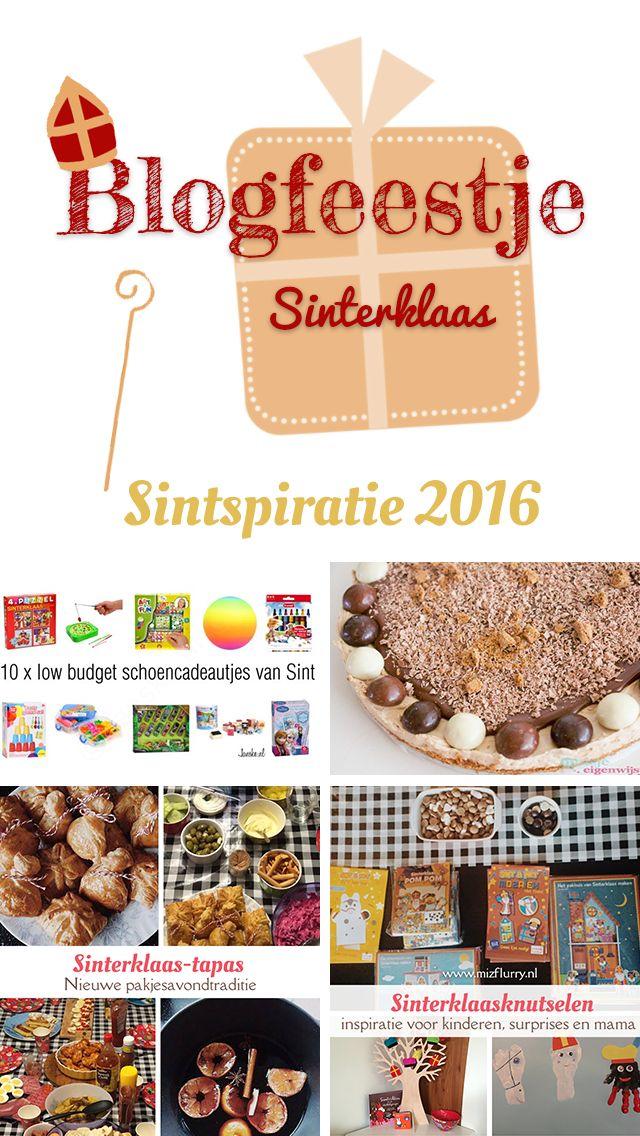 Sintspiratie 2016; een blogfeestje met als thema Sinterklaas. Doe inspiratie op en/of laat je link achter!