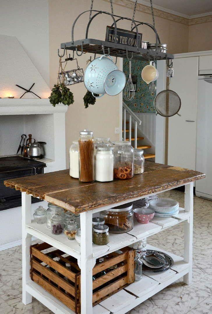 M s de 25 ideas incre bles sobre ollas para colgar en for Colgar utensilios de cocina