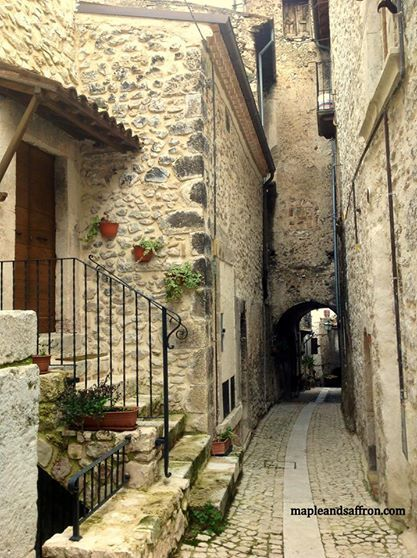 Narrow cute streets...