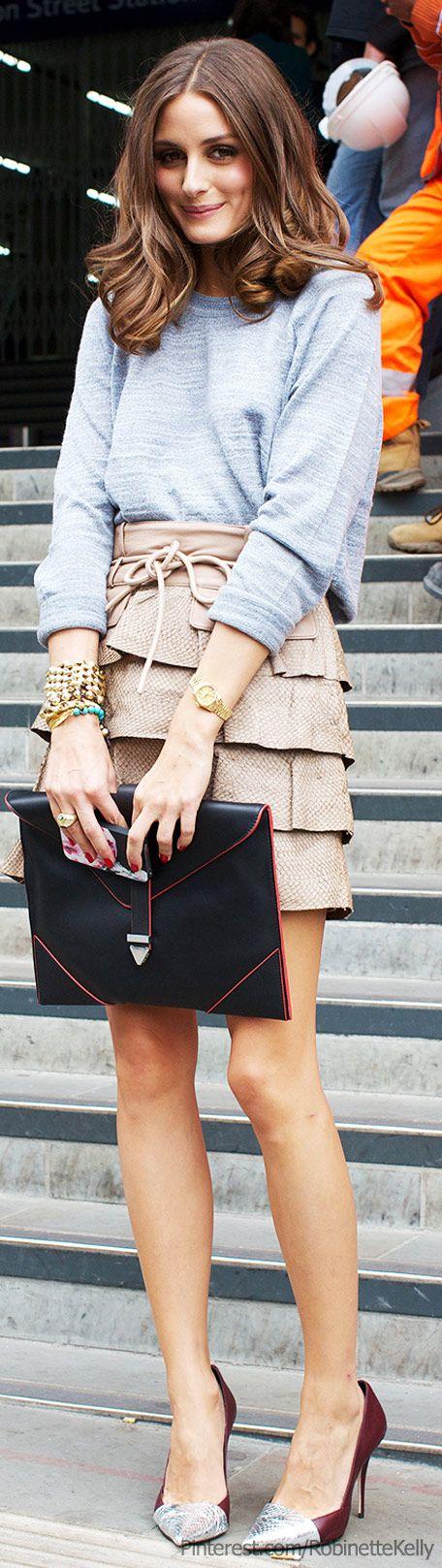 Street Style | London Fashion Week Spring/Summer 2013; Olivia Palermo