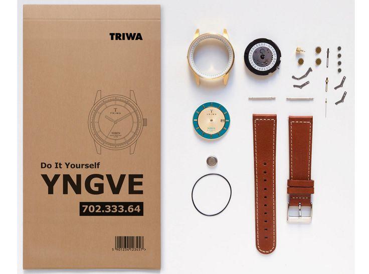 世界でひとつ自分でじっくり組み立てるスウェーデン発のDIY腕時計