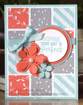 Did You Stamp Today?: Birthday Quilt - Stampin' Up! Suite Sentiments