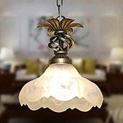 Κρεμαστό κόσμημα, 1 φως, Rustic γυαλί Ζωγραφι... – EUR € 57.74