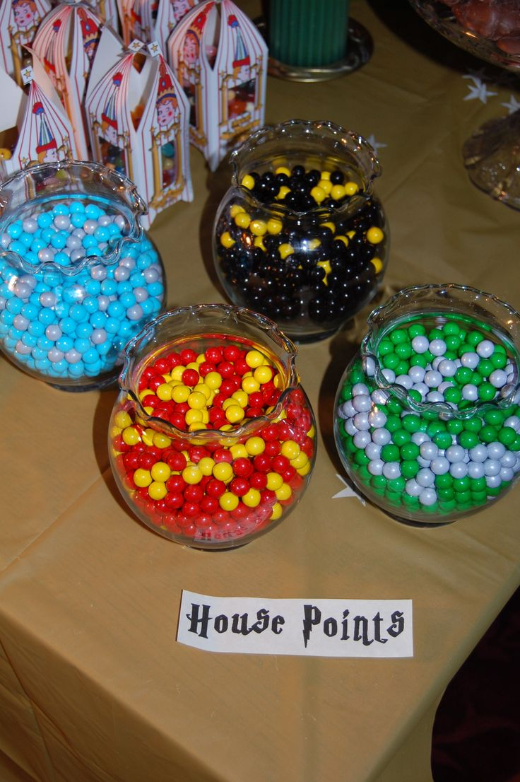 House Points.. we should probably keep track of these! :)