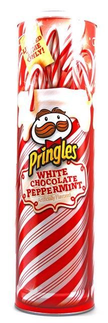 Pringles White Chocolate Peppermint