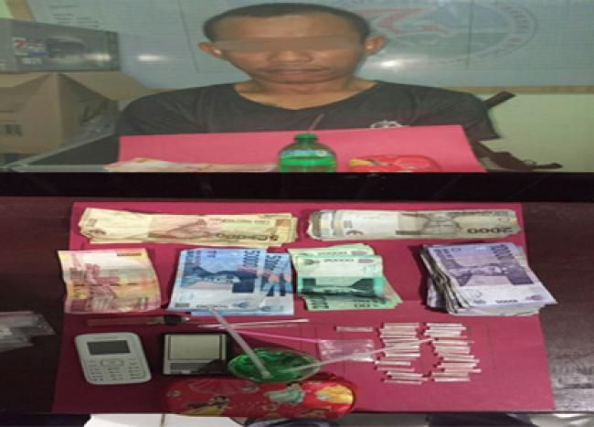 Rengat, Oketimes.com - Diduga pengedar sabu, Tim Satres Narkoba Poleres Indragiri Hulu, Riau, kembali meringkus seorang pelaku tindak penyelagunaan Narkotika Jenis sabu, Kamis 30