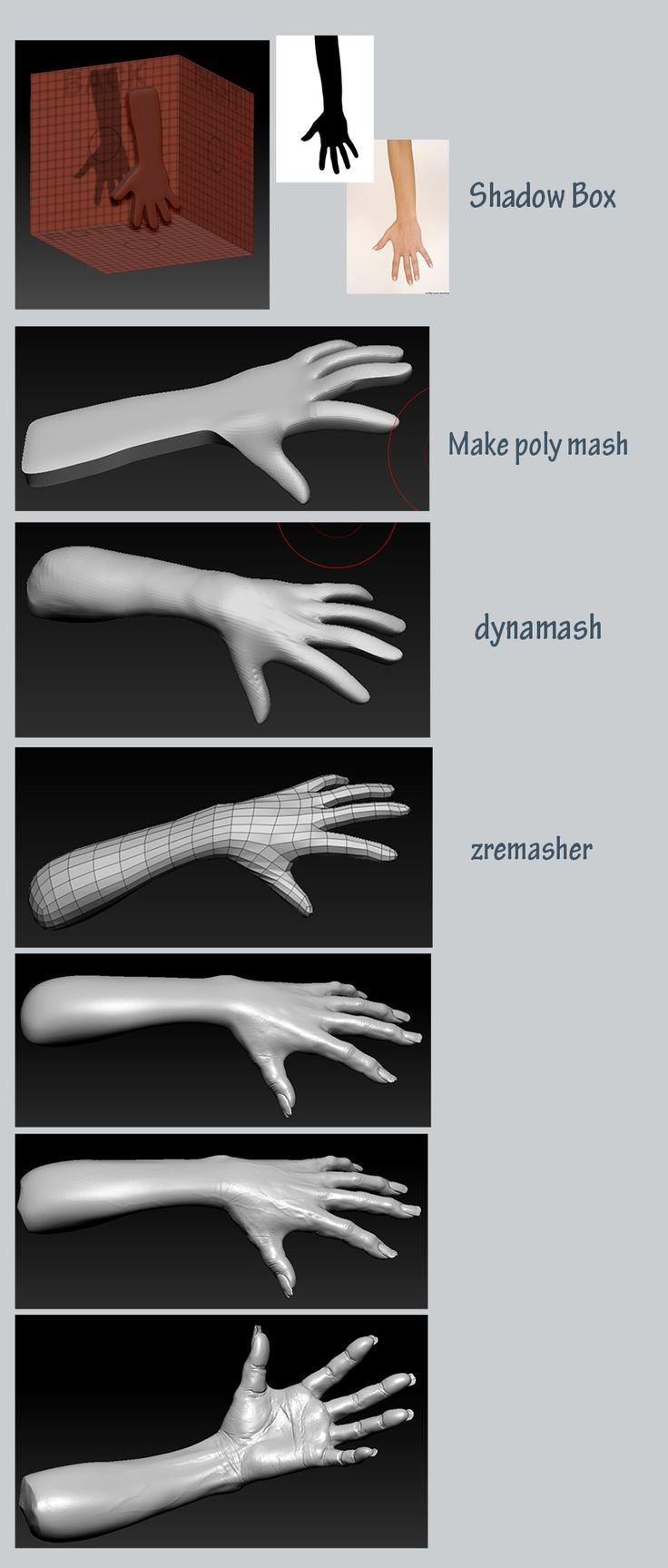 "Twisted Horror (The Ring)"" Ghost doll "" #3d #sculpting #tutorials"