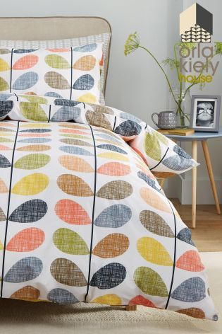 Buy Orla Kiely Scribble Stem Duvet Cover online today at Next: Israel