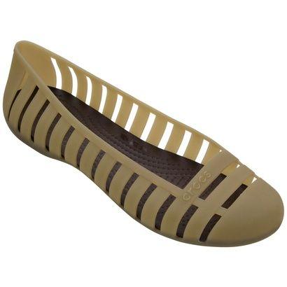 Sapatilha Crocs Adrina Flat 2 - Bege